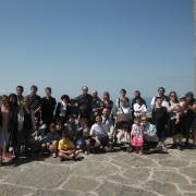 gruppo famiglie Aquila e Priscilla in gita a La Verna 22 giugno 2014