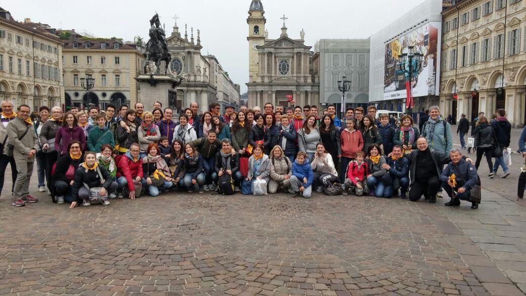 Pellegrinaggio alla Sindone di Torino – 25 aprile 2015